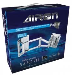 Embalagem para suporte de tv aironflex