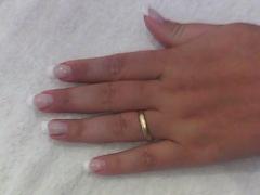 Mega hair (urias ferreira) e  unhas de gel  (mirian ferreira) unhas de fibra de vidro - foto 4