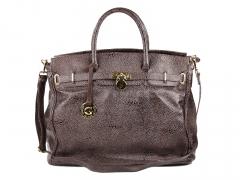 Maxi bolsa feminina em couro - kabupy