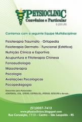 Clínica physioclinic - profissionais