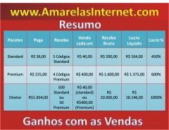 Veja como o lucro é alto! comece agora,invista,tenha seu próprio negócio rentável! inscreva-se - http://www.amarelasinternet.com/joelaristides