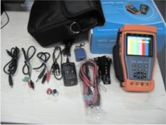 Testador de cftv (kit completo)