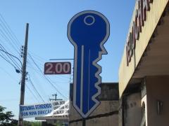 Confecçionamos chaves residencial , autos e motos vlr mais barato    do brasil