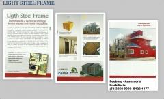 Steel frame construção a seco
