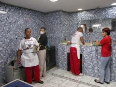 Salão, área de banho
