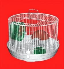Gaiola para Hamster Gerbil ou Semelhantes Redonda Baixa Em metal, com alça, linda, resistente, higienica http://www.pet-eshop.com.br/hamster/gaiola-para-hamster-gerbil-redonda-baixa-braganca.html