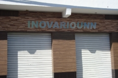 Fachada de loja estilo inovações. moveis bento-es