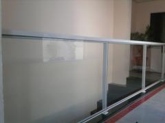 Parapeito vidro temperado