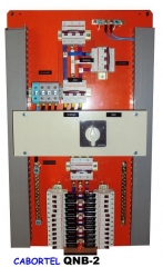 Quadros para no-breaks ou estabilizadores, empregados na alimentação de computadores, impressoras ou seus racks.  manuais ou automáticos revertem o sistema estabilizado para a rede em caso de pane ou manutenção.