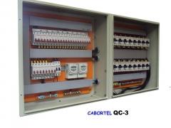 Quadros para comando de luz, bombas, etc.  para controle de quaisquer sistemas elétricos.