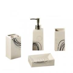 Kit banheiro em cerâmica