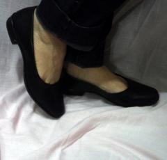 Sapato casual feminino clássico para uso profissional