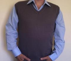 Colete de lã mod. masculino para uso profissional
