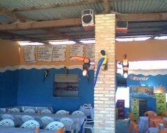 Foto do salão do restaurante farol da barra