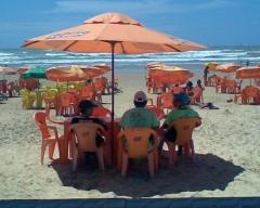 N�o existe praia melhor em sergipe!