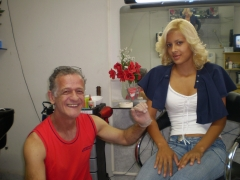 Priscila, minha amiga e melhor manicura que conheço!!!