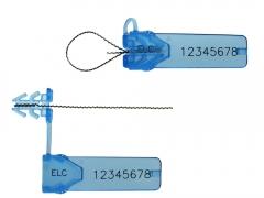 Lacre plástico de segurança tik awnl2 lm com gravação a laser