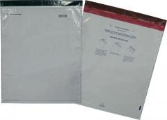 Envelope plástico de segurança com fechamento duplo adesivo void eastar