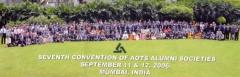 Membros da aots na convenção mundial em bombaim, na índia - 2006