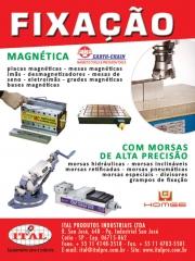 Ital produtos industriais ltda - bloco magnetico - placa eletropermante - morsas hidraulicas -