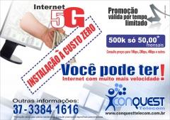 Promoção de natal da conquest telecom