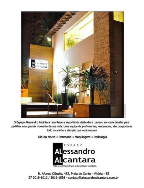 Anúncio publicado na Revista Entre Noivas - Foto: Néstor Cutipa