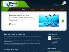 Website água mimu´s em sumaré/sp