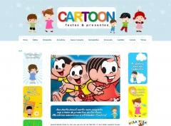 Layout e website Cartoon