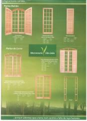 Catálogo de esquadrias