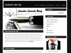 Website dr. leandro lunardo beniz em paulínia/sp
