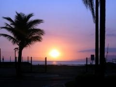 Final de tarde, um lindo Por do Sol.