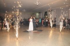Fogos indoor para casamentos , 15 anos etc..