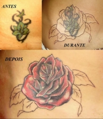 Arte tribal tattoo