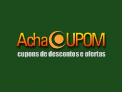 Logotipo do achacupom site de cupons de descontos e ofertas