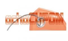 Novo logotipo do achacupom site de cupom de descontos e ofertas