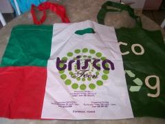 Sacolas para lojas v�rios modelos, e tamanhos , eco-bag,sacola em algod�ozinho e outro tecidos, venha conferir, um abra�o.
