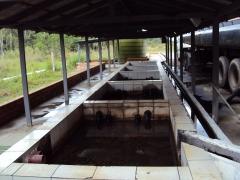 Sistema de separação água e óleo de emergência