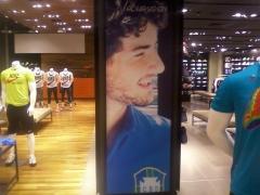 Visual da nova campanha das lojas nike (salvador)