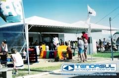 Tendas piramidal 10x20m para eventos de empresa