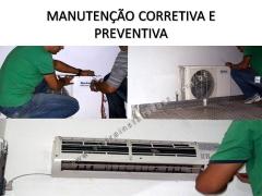 Manutenção corretiva e preventiva de ar condicionados
