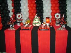 Decoração festa infantil - flamengo