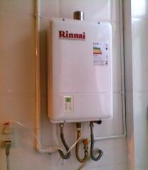 Instalação; manutenção e conversão de aquecedor