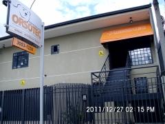 Entrada da Loja Orsotec em Curitiba, Bairro Portão.