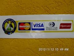 Pague sua compras com cartão de crédito
