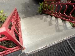 Escada externa revestimento