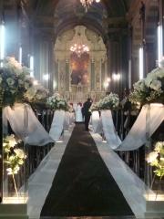 Casamento, decoração de igrejas