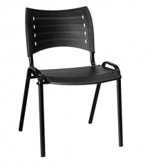 Cadeira Polipropileno Preto