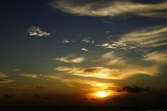Por do sol na barra - salvador - ba