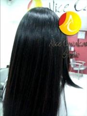 Visão posterior 2 do mega hair tel 3368-3579