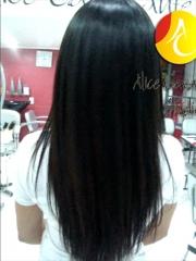 Visão posterior do mega hair tel 3368-3579